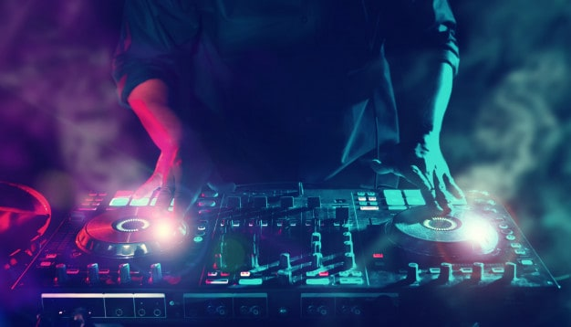 party night club disc dj entertainment with edm dance music mixer players with lighting e 29393 198