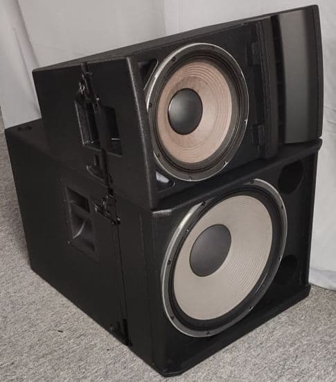 Neodymium Subwoofer Powered System Professional 18 DJ Audio Bass System