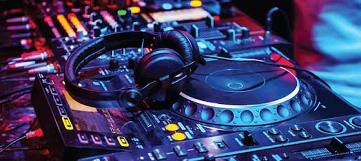 what do djs use to make music